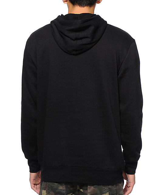 Crooks and Castles Getting Guap Black Pullover Hoodie