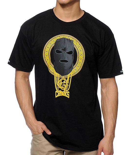 Crooks and Castles Goon Squad Black T-Shirt