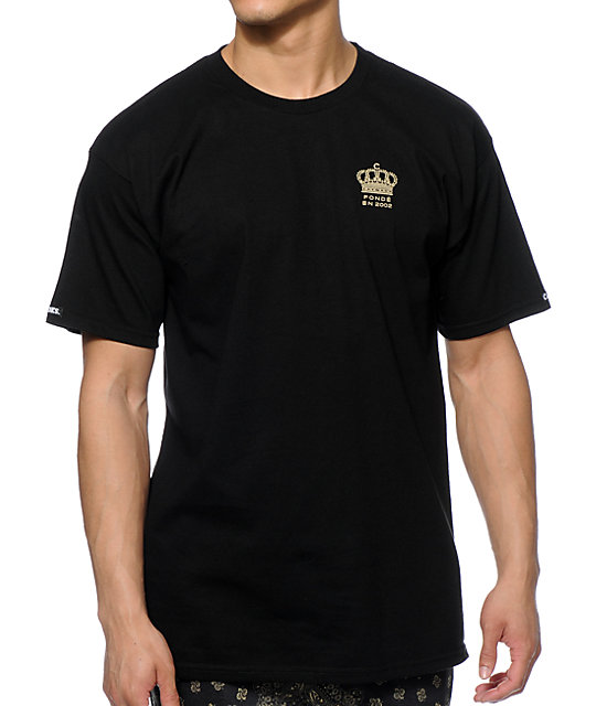 Crooks and Castles Imperial Black T-Shirt