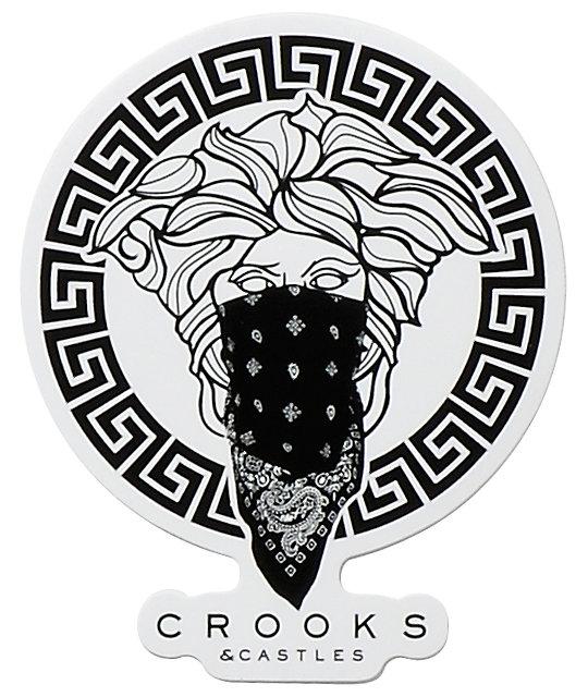 Crooks and Castles Medusa Sticker