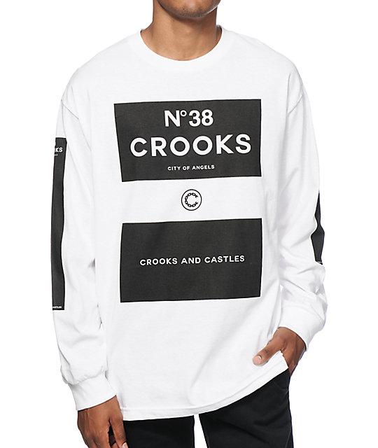 Crooks and Castles No 38 Long Sleeve T-Shirt at Zumiez : PDP