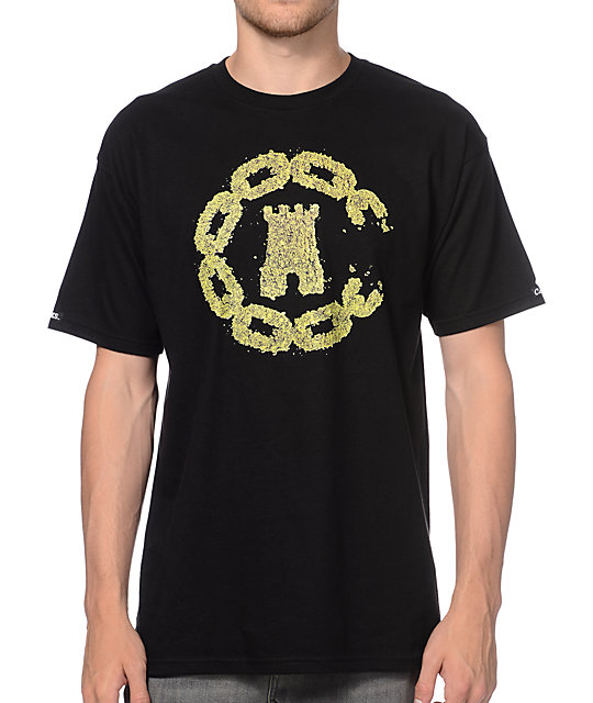 Crooks and Castles OGK And Castles Black T-Shirt