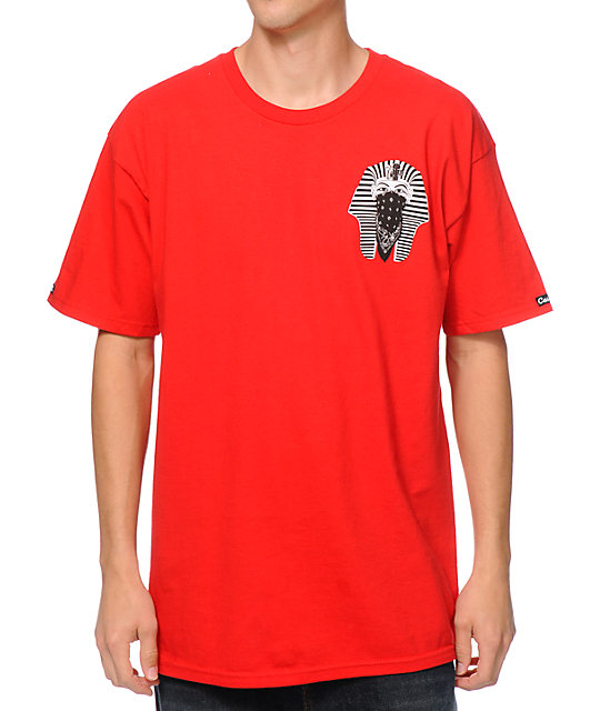 Crooks and Castles Pharaoh 2.0 Red T-Shirt