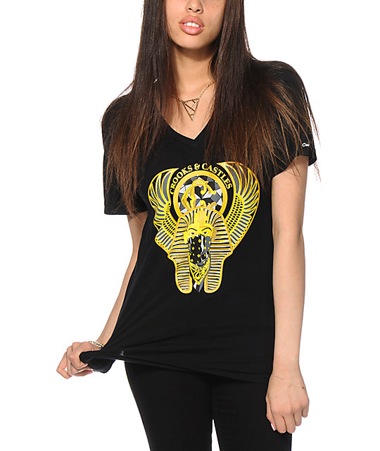 Crooks and Castles Pharaoh V-Neck T-Shirt