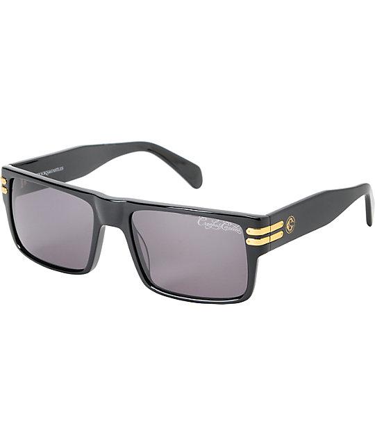 Crooks and Castles Triumph Black Sunglasses