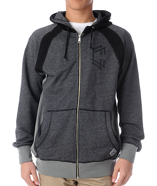 Crooks and Castles Union Craft Zip Up Hoodie