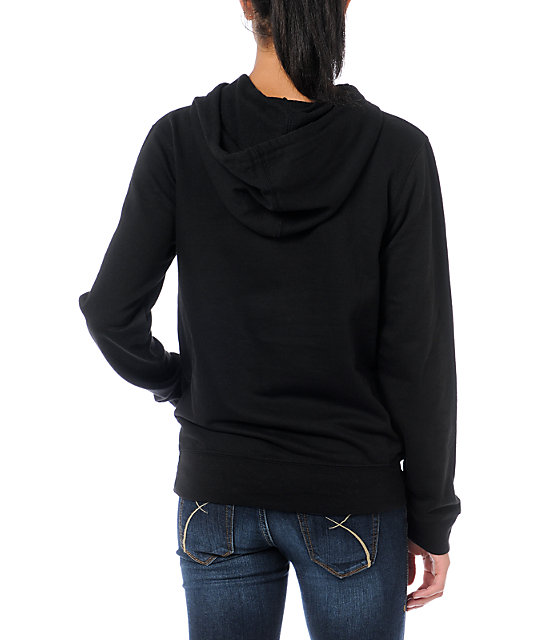 Crooks and Castles Weaved Medusa Black Hoodie