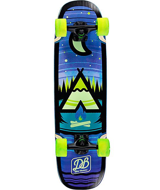 """Balance Board Zumiez: DB Camp 28.75"""" Mini Cruiser Complete Skateboard"""