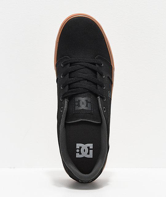 De Goma Negro Y Anvil En Dc Skate Tx Zapatos ZTOiPkXu