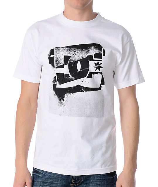 DC Bad Xerox White T-Shirt