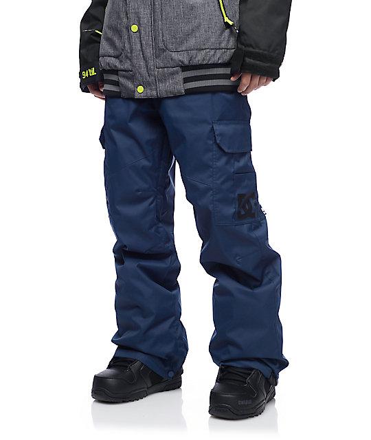 DC Banshee Insignia Blue Snowboard Pants