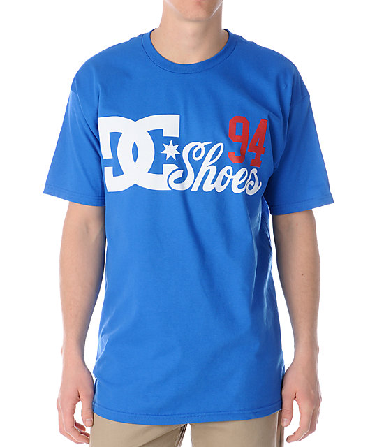 DC Batter Up Blue T-Shirt