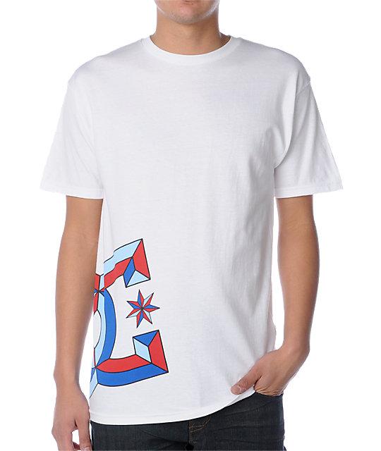 DC Bevel-D White T-Shirt