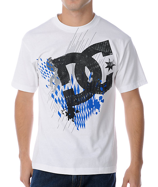 DC Black White T-Shirt
