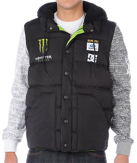 DC Block Black Vest-Jacket