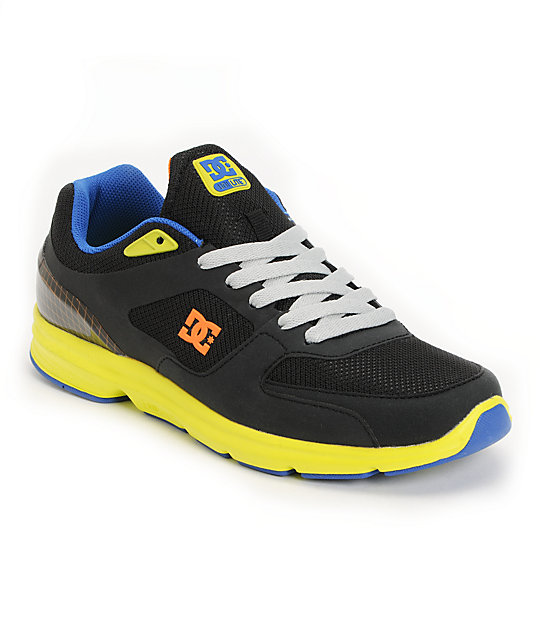 DC Boost UniLite Black & Neon Shoes