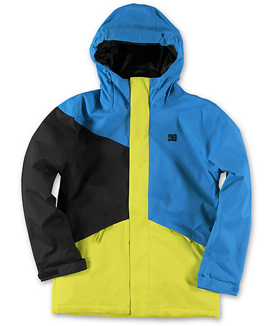 DC Boys Amo 10K Blue 2014 Snowboard Jacket