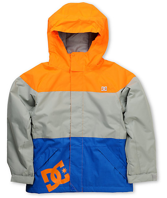 DC Boys Amo 5K Orange Snowboarding Jacket