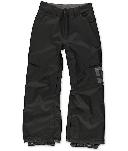 DC Boys Banshee 10K Black 2014 Snowboard Pants