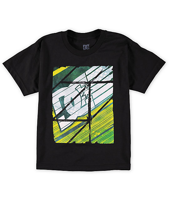 DC Boys Brrp Black T-Shirt
