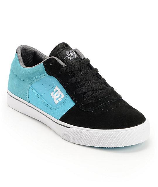 dc boys cole pro black blue skate shoe at zumiez pdp