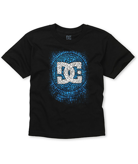 DC Boys Ego Black T-Shirt