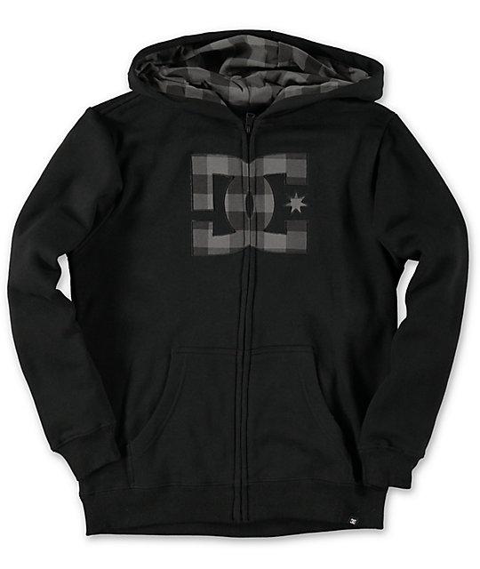 Black dc hoodie
