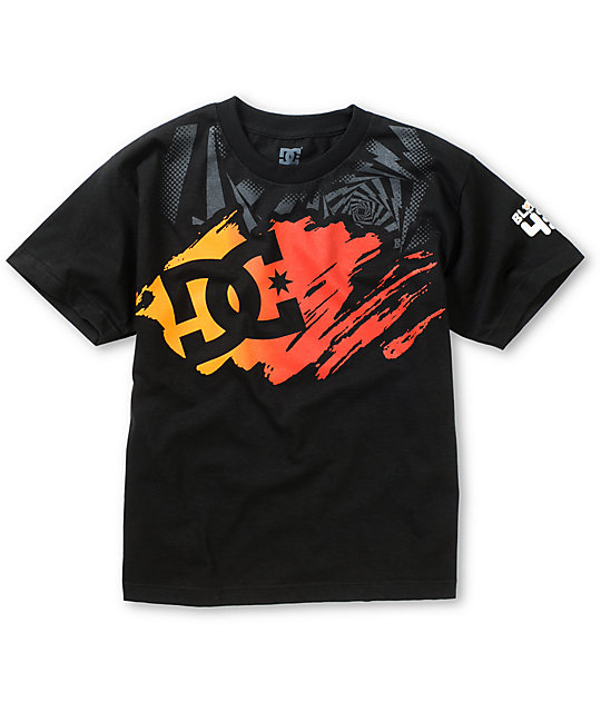 DC Boys KB Stroke Star Black T-Shirt