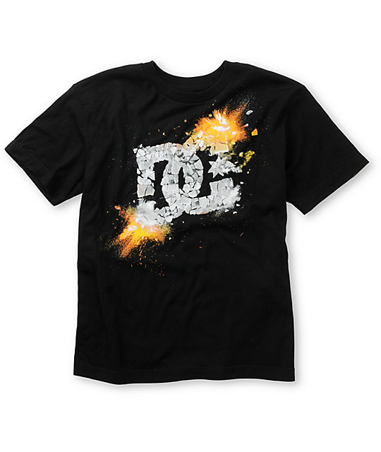 DC Boys Kaboom Black T-Shirt