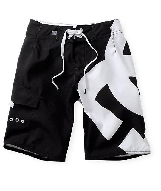 DC Boys Lanai Essential Black Board Shorts