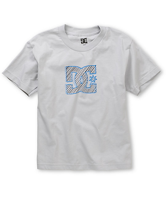 DC Boys Modpod Grey T-Shirt