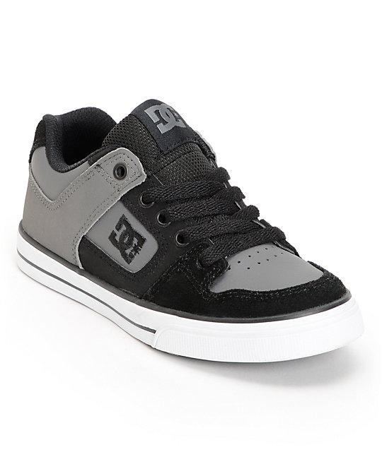 dc boys charcoal black skate shoe at zumiez pdp