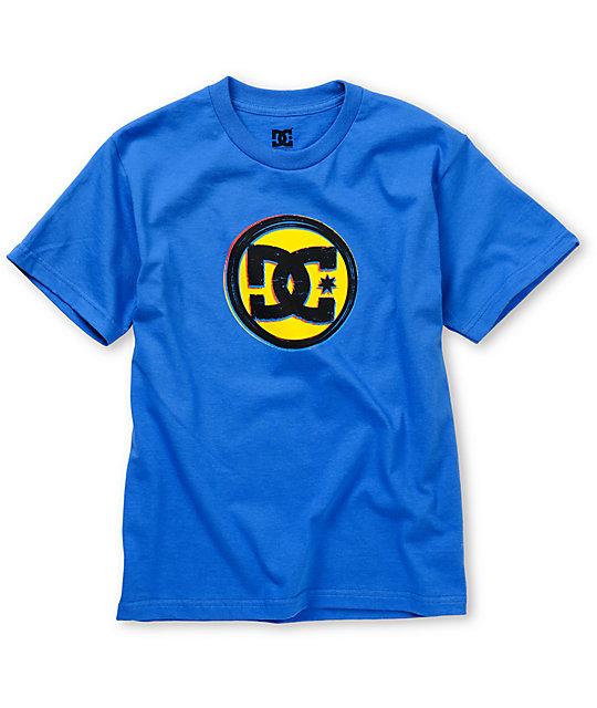 DC Boys Roundabout Blue T-Shirt