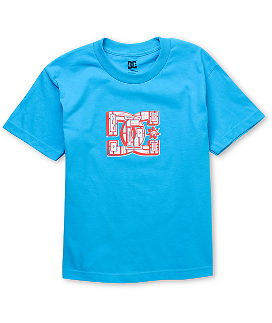 DC Boys Shoarma Blue T-Shirt