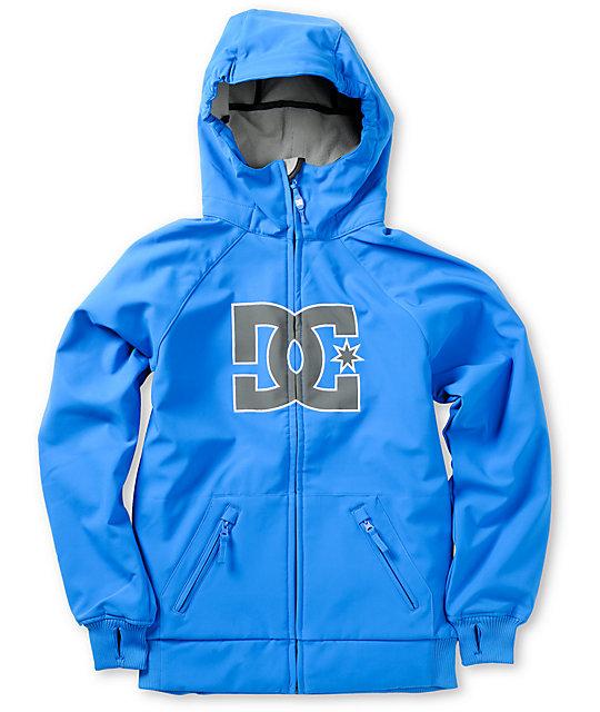 DC Boys Spectrum K True Blue 10K Snowboard Jacket | Zumiez