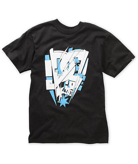 DC Boys Vega Black T-Shirt