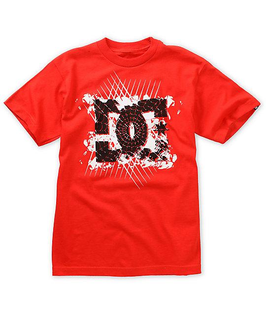 DC Boys Webber Red T-Shirt