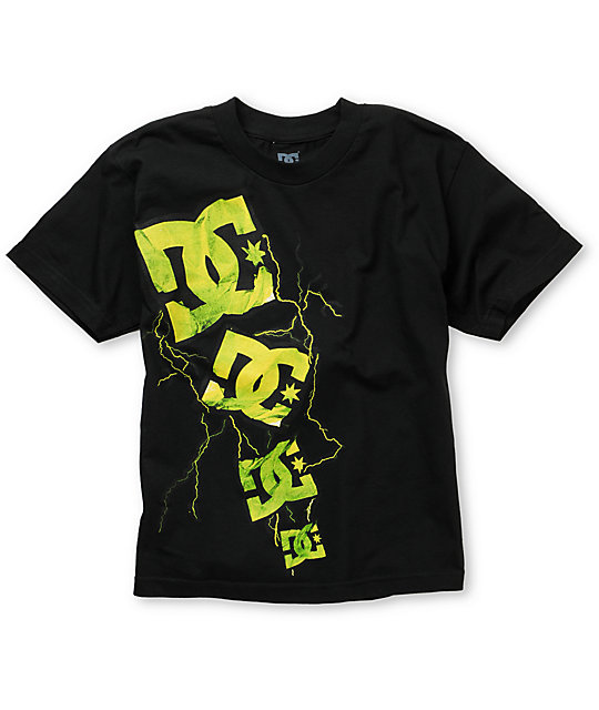 DC Boys Wowzers Black T-Shirt