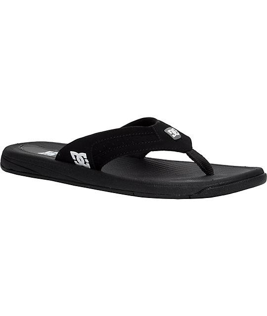 DC Cabo Black Sandals