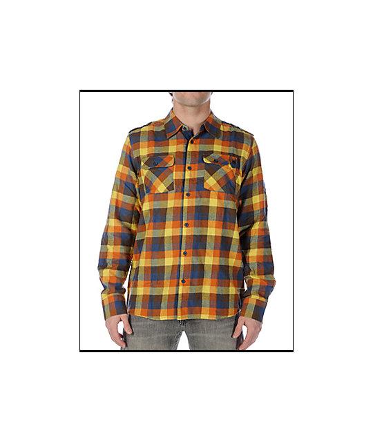 DC Cam Espresso Flannel Shirt