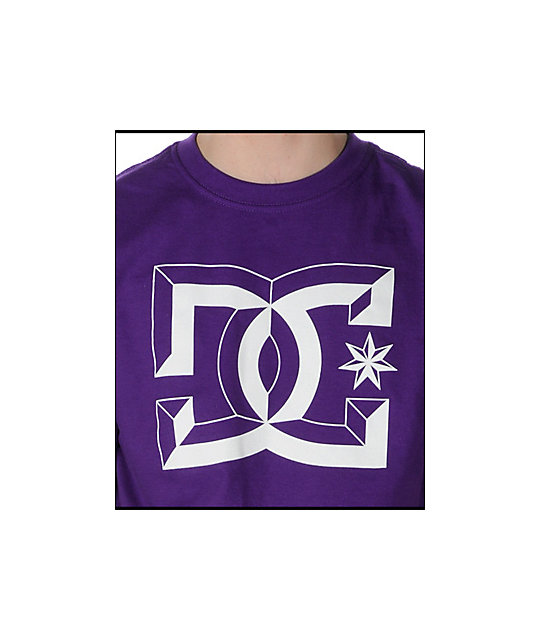 DC Center-D Purple T-Shirt