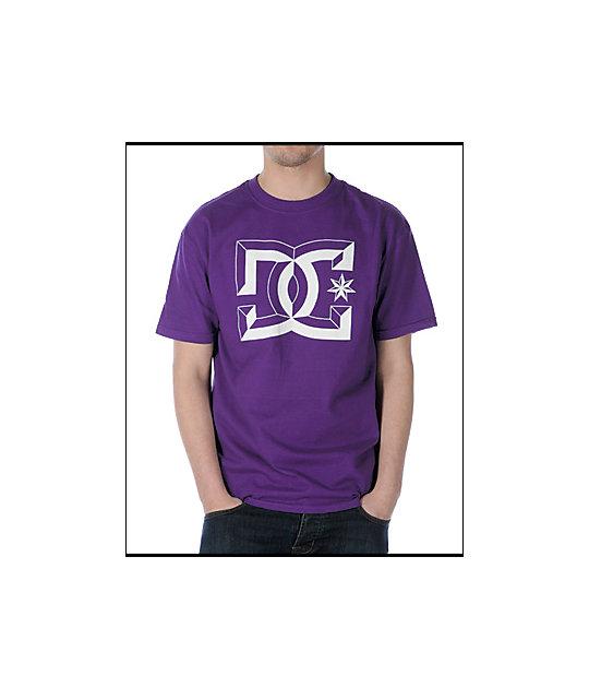 DC Center-D Purple T-Shirt