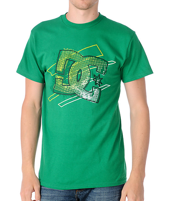 DC Center Green T-Shirt