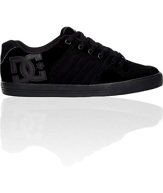 DC Chase Black Shoes