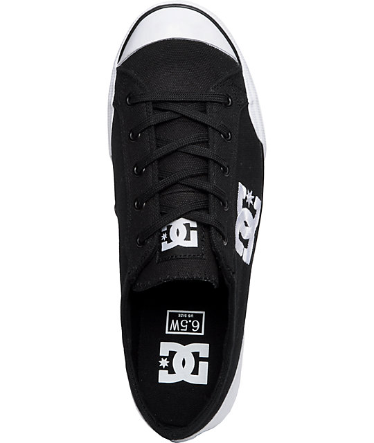 DC Chelsea Zero Black & White Shoes