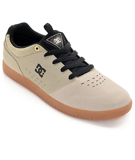DC Cole Signature Tan & Gum Skate Shoes