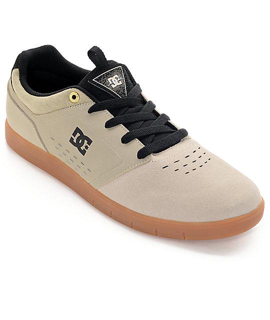 DC Cole Signature Tan & Gum Skate Shoes