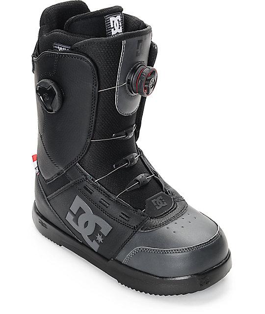 DC Control Black Boa Snowboard Boots