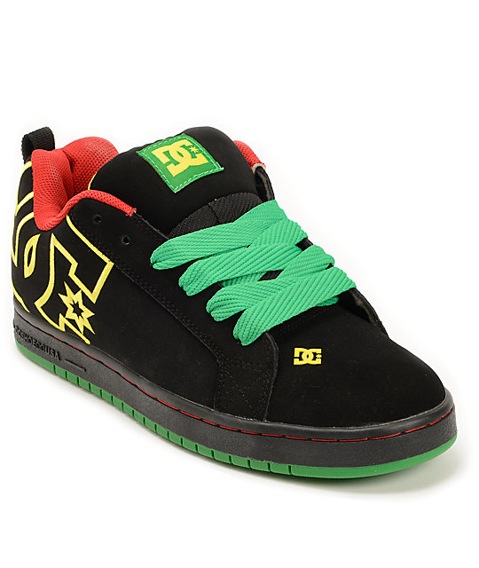 Dc Rasta Shoes Size