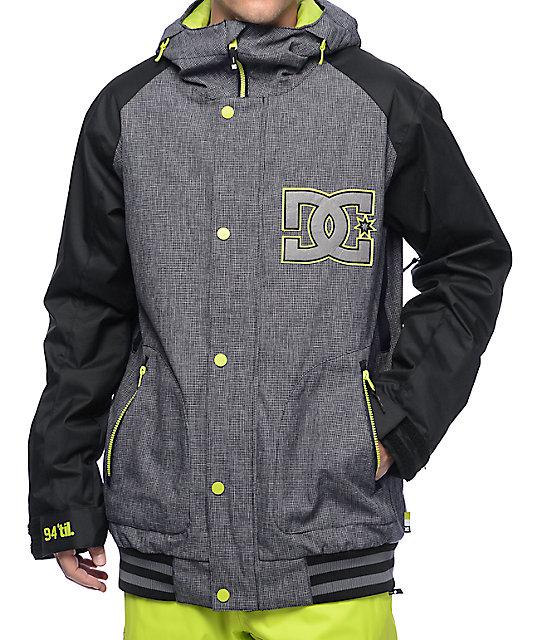 DC DCLA Black 10K Snowboard Jacket
